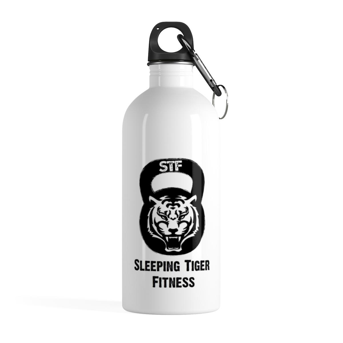 Sleeping Tiger Stainless Steel Water Bottle